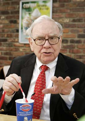 buffett  ice cream